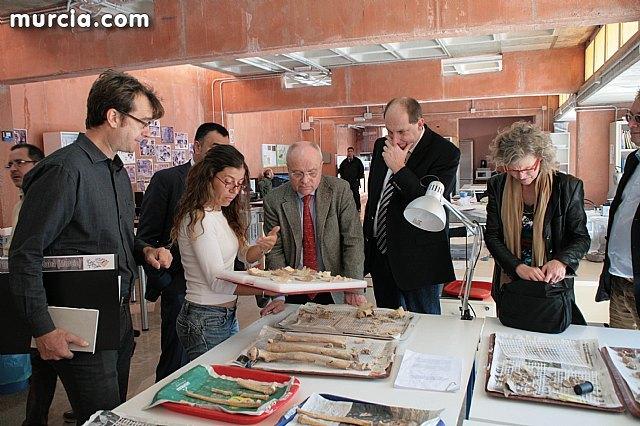Una delegaci�n alemana visita el Yacimiento Arg�rico de la Bastida, Foto 1