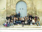 El ies los albares recibe al lycée gabriel faure de tournon (francia)