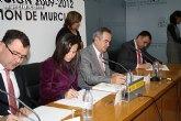 El alcalde suscribe el acuerdo con la secretaria de Estado de Vivienda y la Comunidad Autónoma