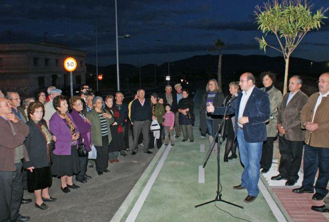 El Alcalde inaugura el acceso a Puerto Lumbreras desde la Carretera D19 de Águilas tras las obras de remodelación y su conversión en una nueva avenida - 2, Foto 2