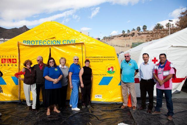 Un hospital de campaña para el municipio de Mazarrrón, Foto 1