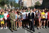 2.500 corredores llenan el Casco Histórico con el IX Cross de la Artillería