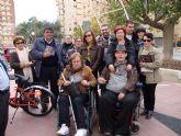MIFITO participó en la concentración en apoyo al movimento asociativo de personas con discapacidad física y orgánica
