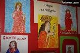 La Fundación La Santa inaugura la exposición de trabajos de dibujo y redacción sobre la patrona Santa Eulalia