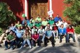 Gran participaci�n por parte de los j�venes de Alhama en la