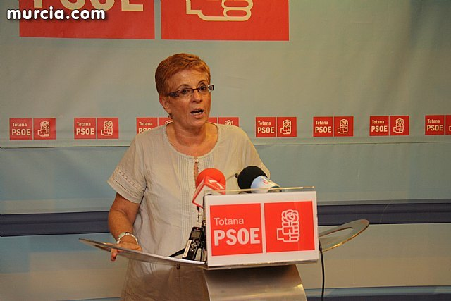 "The PP Totana states that ""the visit of García Retegui to Totana is a political sarcasm"""