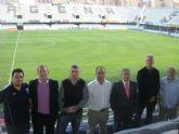 La Federación Irlandesa de Fútbol se interesa por las instalaciones deportivas de la ciudad