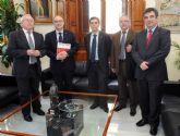 La Universidad de Murcia y el CSIC estudian la cooperación en actividades del Campus Mare Nostrum