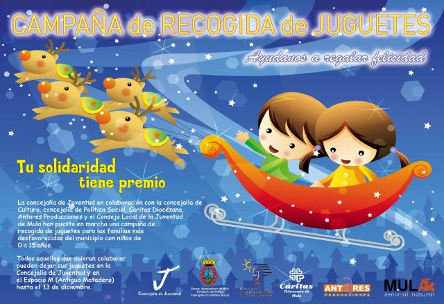 Mula pone en marcha, un año más, una campaña de recogida de juguetes para familias desfavorecidas - 1, Foto 1