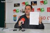 Cánovas: 'El Ayuntamiento modifica el presupuesto, por 686.000 euros aumentando el gasto corriente'
