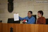 El alcalde y la portavoz del equipo de Gobierno realizan un balance del Pleno