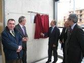 Campos asiste a la inauguración de la sede judicial de Mula