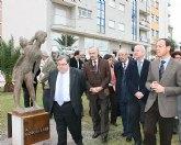El jefe del ejecutivo regional preside la inauguración del Parque Escultórico Antonio Campillo