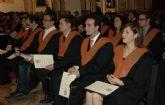 Graduación de la II Promoción del Grado en Ingeniería de Edificación de la UCAM