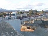 El nuevo puente sobre el río Chícamo en Abanilla supera con éxito las pruebas de carga