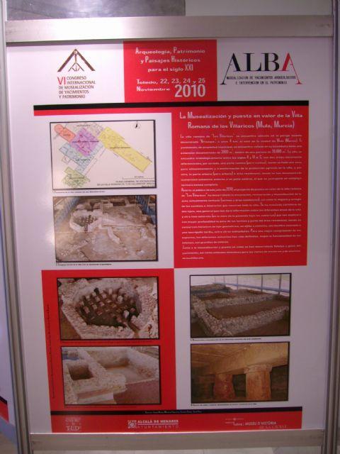 El yacimiento de Los Villaricos de Mula participa en el Congreso Internacional de Musealización de Yacimientos y Patrimonio en Toledo - 1, Foto 1