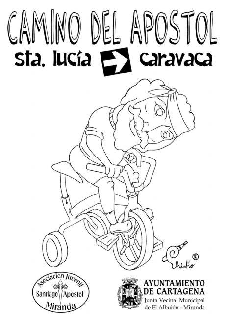Jóvenes de Miranda recorren en bici el Camino del Apóstol - 1, Foto 1