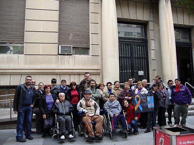 MIFITO participó en la concentración en San Esteban contra los recortes de subvenciones de la Comunidad Autónoma - 1, Foto 1