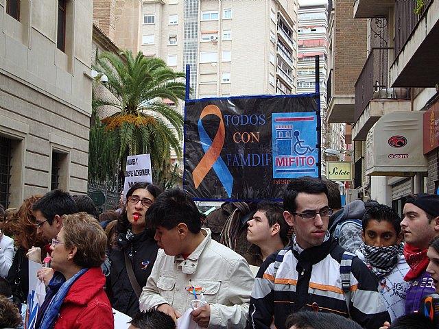 MIFITO participó en la concentración en San Esteban contra los recortes de subvenciones de la Comunidad Autónoma - 3, Foto 3