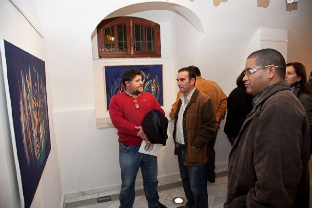 Inaugurada ´Naturaleza y abstracción´ de Nares Díaz, Foto 1