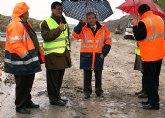 Las obras de remodelación de los accesos a la vía de alta capacidad Lorca-Águilas inician su recta final
