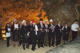 La Rondalla de Lorquí, de visita en las minas de La Unión