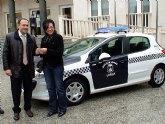 La Policía Local de Lorquí cuenta con un nuevo vehículo subvencionado por la Comunidad