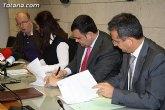 El ayuntamiento de Totana y el Área III del Servicio Murciano de Salud firman un convenio