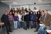 Visita a los alumnos de diversos cursos que se imparten en el Centro de Desarrollo Local