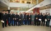El consejero de Justicia y Seguridad Ciudadana participa en los actos del Día del Patrón de la Policía L ocal de Fuente Álamo