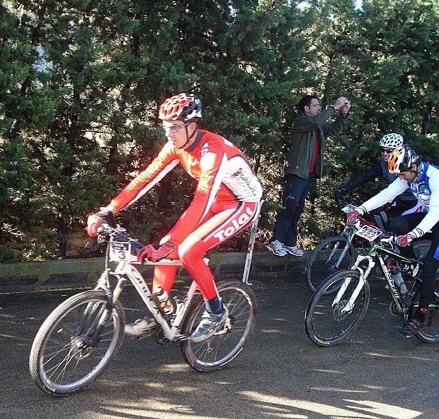 1º puesto de Juan Daniel del Club Ciclista Santa Eulalia en categoría promesa en el I Yeti-Trail btt Sierra Espuña - 1, Foto 1