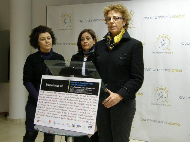 Radio Lorca Cadena Ser organiza el II Maratón de Donación de Sangre Quiero Ser Solidario el jueves 2, con la colaboración del Ayuntamiento - 1, Foto 1