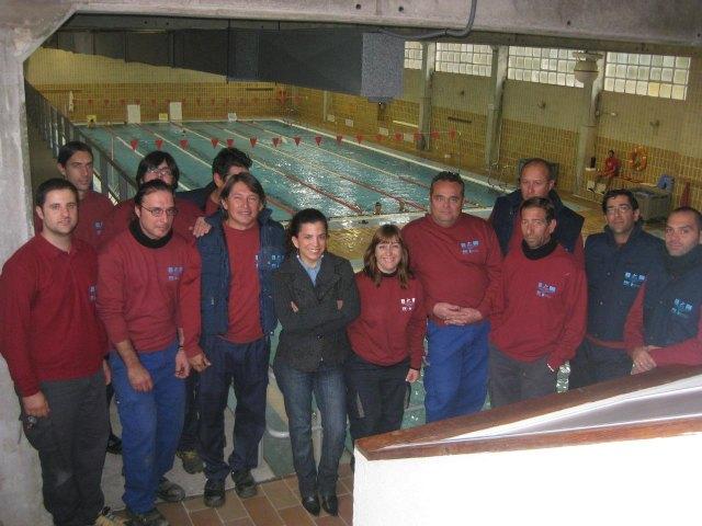 La piscina Infante estrena instalación solar térmica - 1, Foto 1