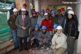 El alcalde y el concejal de Fomento y Empleo visitan las obras de restauración de la Casa de las Monjas