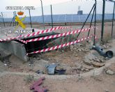 La Guardia Civil detiene a una persona por simular los delitos de robo, sustracción de vehículo y daños