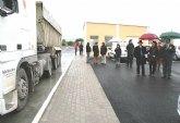 La Comunidad pone en funcionamiento la nueva estaci�n de pesaje en la autov�a Alhama-Cartagena