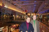 Victorio & Lucchino decoran la Navidad del centro comercial Nueva Condomina