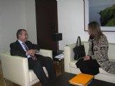 Reunión de Manuel Campos con la Asociación de Mediacción de la Región de Murcia