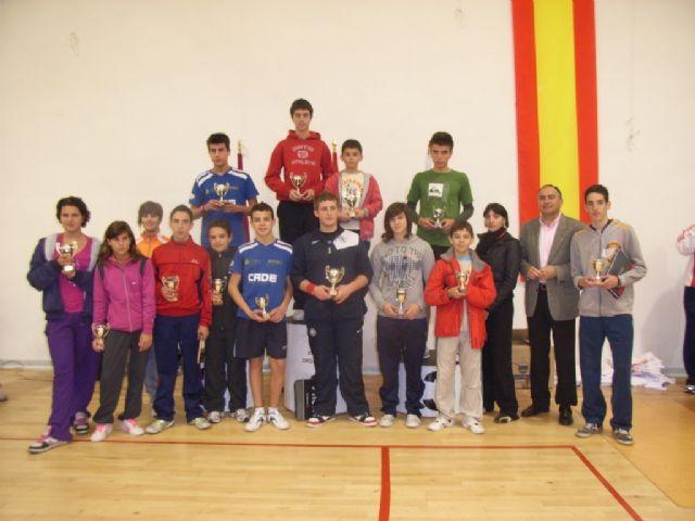 Un total de 78 escolares participaron en el torneo de tenis de mesa de Deporte Escolar, Foto 1