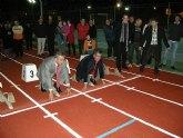El delegado del Gobierno y el alcalde de Mazarr�n inauguran nuevas instalaciones en el Polideportivo Municipal