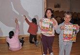 La Asociación ADICA celebra el Día Internacional de Personas con Discapacidad con la intervención artística 'Huellas Ingrávidas'