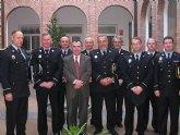 Manuel Campos se re�ne con el presidente de la Asociaci�n de Jefes de Polic�a Local de la Regi�n de Murcia