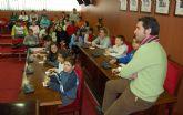 Los escolares torreños celebran la Constitución participando en un pleno infantil