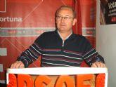 Alonso Ruiz elegido por aclamación candidato a la alcaldía por el PSOE de Fortuna