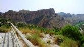 La Comunidad financia un mirador en el desfiladero de El Solvente para contemplar la panorámica del Valle de Ricote