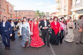 El D�a Rociero concentra a centenares de personas