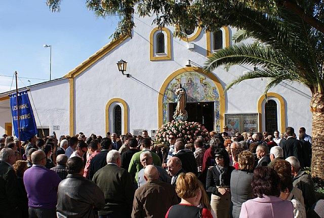 La pedanía lumbrerense La Estación- Esparragal celebra el día grande de sus fiestas en honor a la Purísima Concepción - 1, Foto 1