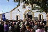 La pedanía lumbrerense La Estación- Esparragal celebra el día grande de sus fiestas en honor a la Purísima Concepción