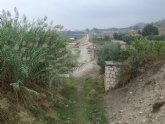 Presentan firmas para pedir el rescate para la Vía Verde del antiguo tramo ferroviario de la Ribera de Los Molinos de Mula