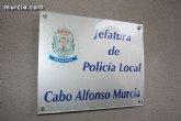 Agentes de la Polic�a Local de Totana detienen a un individuo que se encontraba en paradero desconocido, adem�s de en busca y captura
